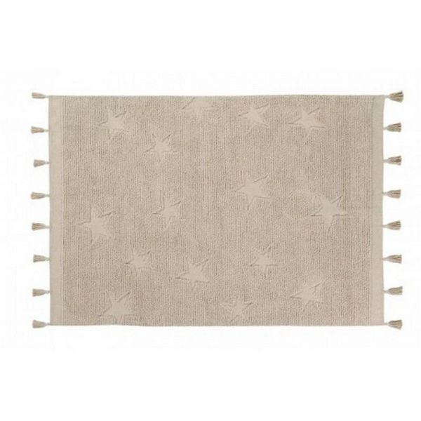 tapis lavable stars natural 120x175 - lorena canals