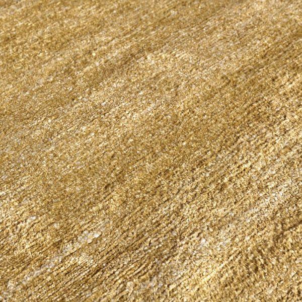 tapis moderne silky angelo jaune
