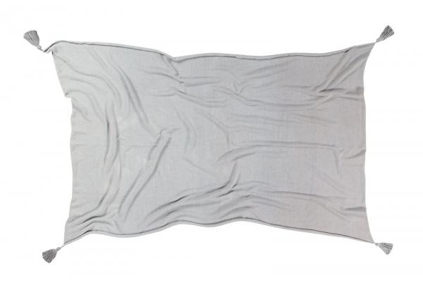 couverture bébé ombré light grey - lorena canals