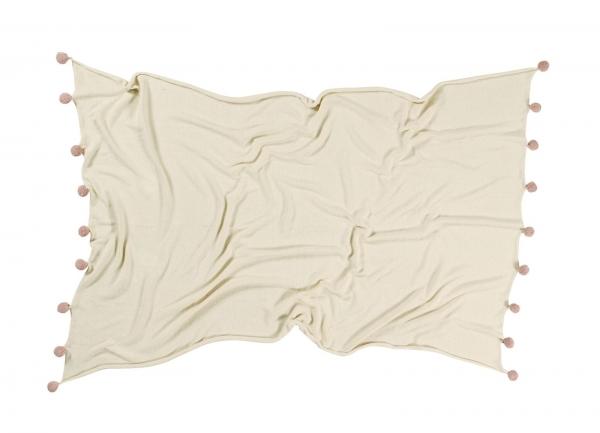 couverture bébé natural nude - lorena canals