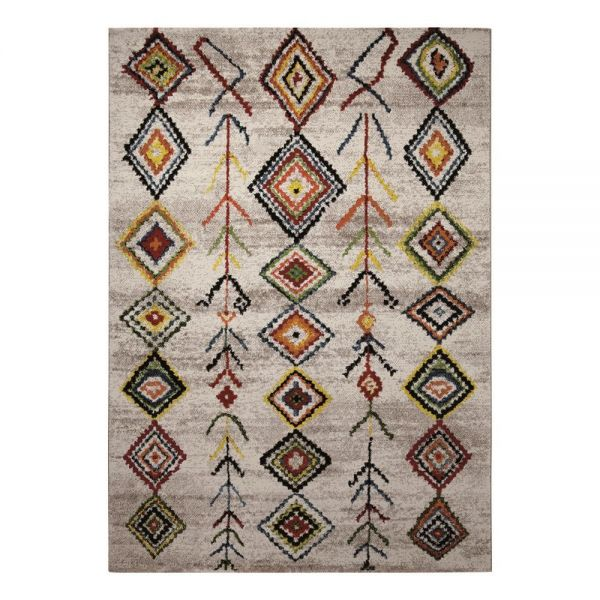 tapis wecon moderne medina multicolore