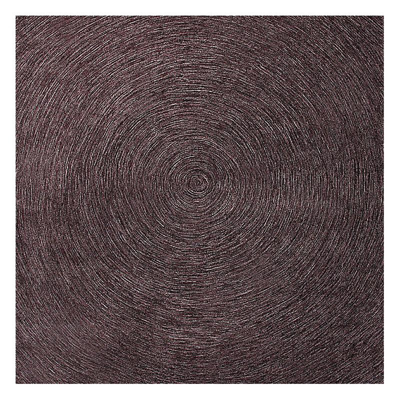 tapis marron esprit home moderne carr colour in motion 200x200. Black Bedroom Furniture Sets. Home Design Ideas