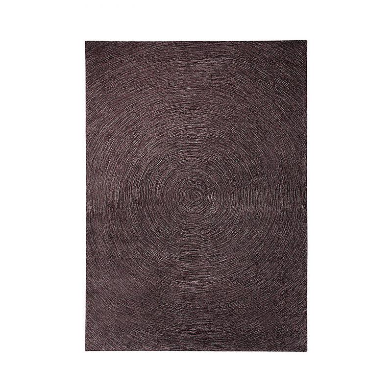 tapis esprit home moderne colour in motion marron