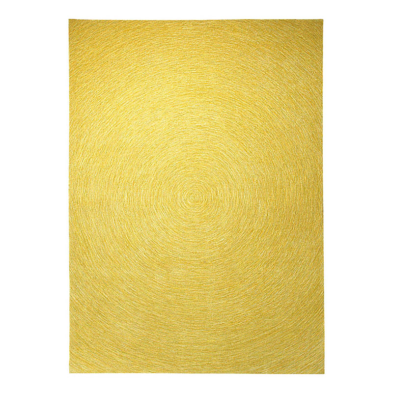 tapis moderne carr esprit home colour in motion jaune 200x200. Black Bedroom Furniture Sets. Home Design Ideas