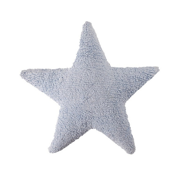 coussin enfant stars bleu ciel lorena canals