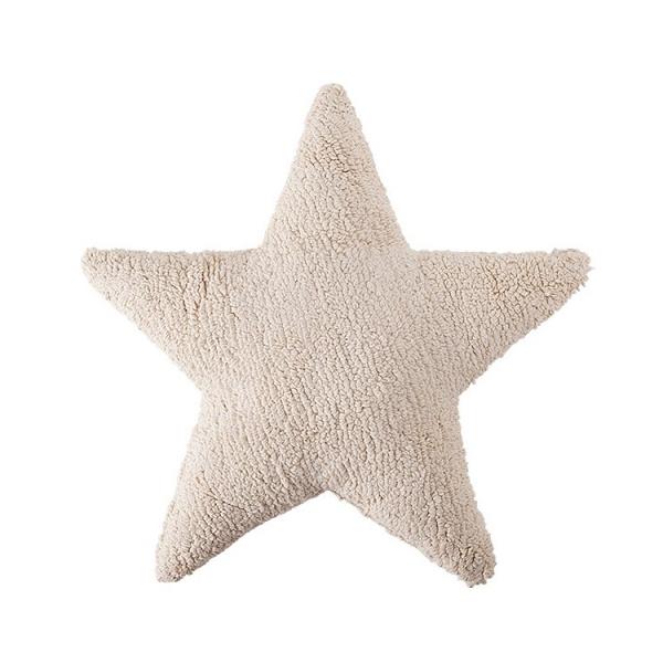 coussin enfant stars beige lorena canals