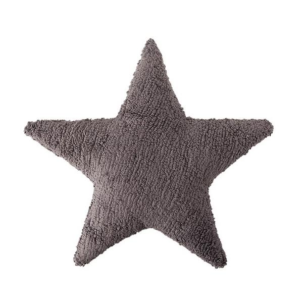 coussin enfant stars gris lorena canals