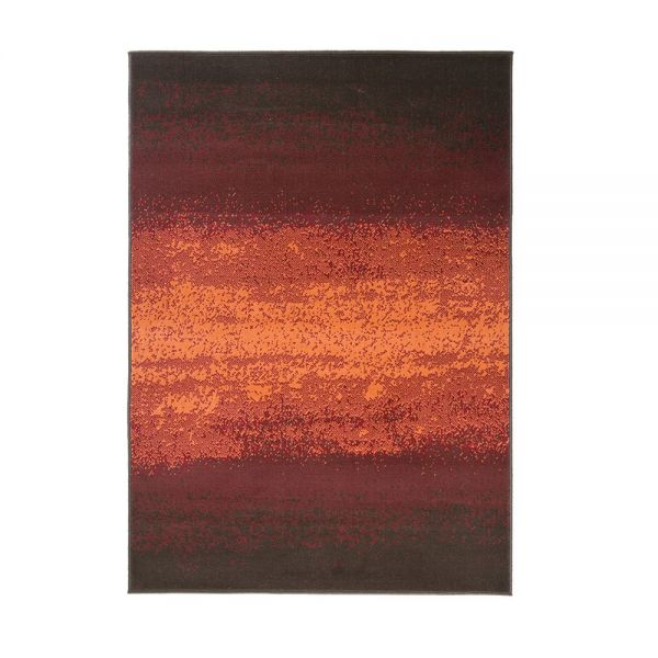 tapis moderne rouge et orange ombre flair rugs 160x230. Black Bedroom Furniture Sets. Home Design Ideas