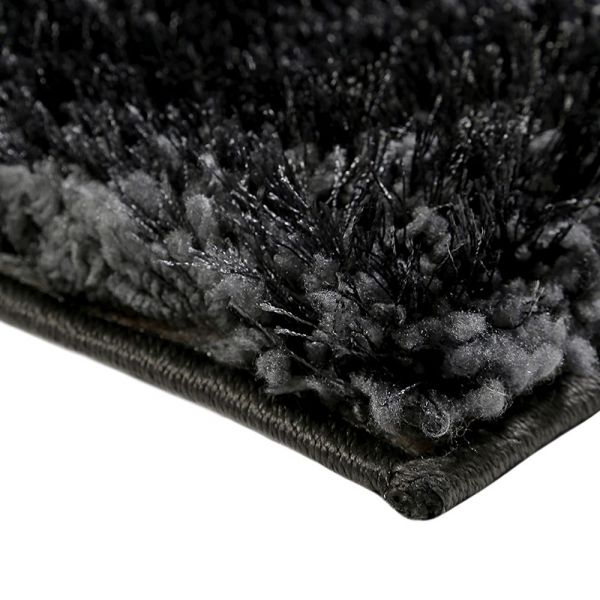 tapis shaggy rond spa anthracite esprit 200x200. Black Bedroom Furniture Sets. Home Design Ideas