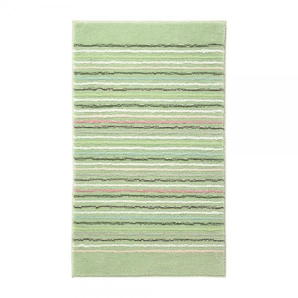 tapis de bain vert cool stripes esprit home