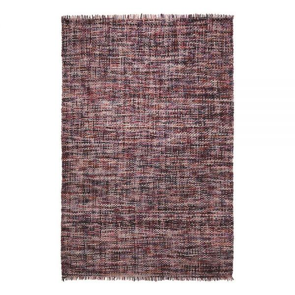 tapis purl moderne violet