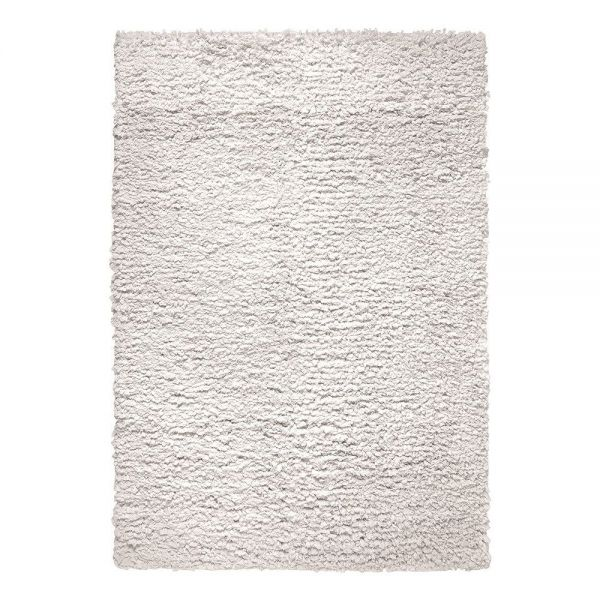 tapis esprit home moderne blanc fluffy