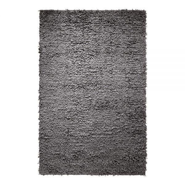 tapis fluffy gris moderne esprit home