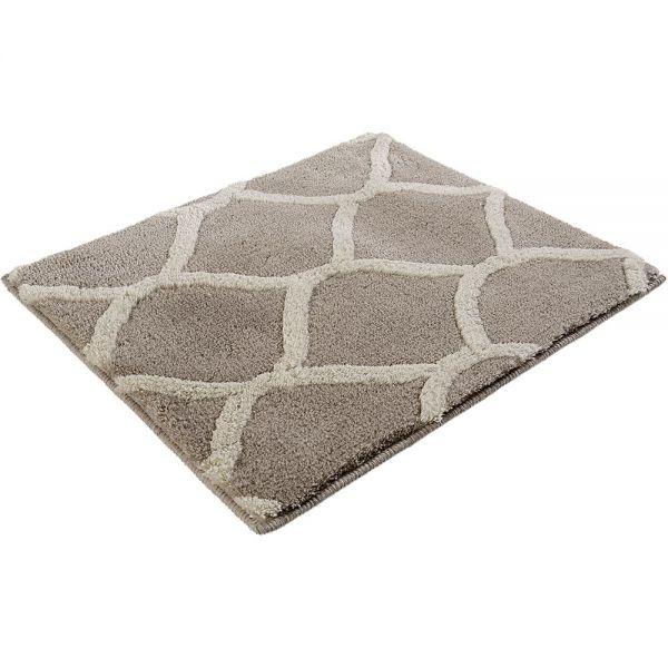 tapis de bain oriental tile taupe esprit