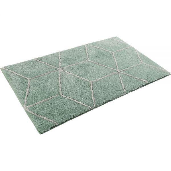 tapis de bain vert clair esprit flair