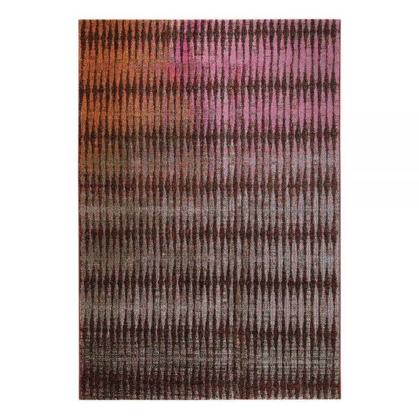 tapis esprit home moderne rouge ocean view