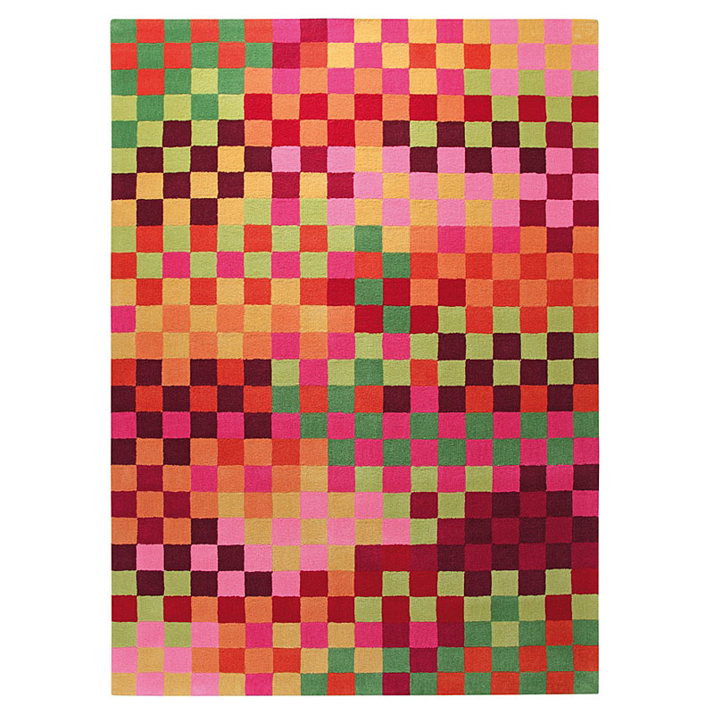 tapis pixel multicolore - esprit home