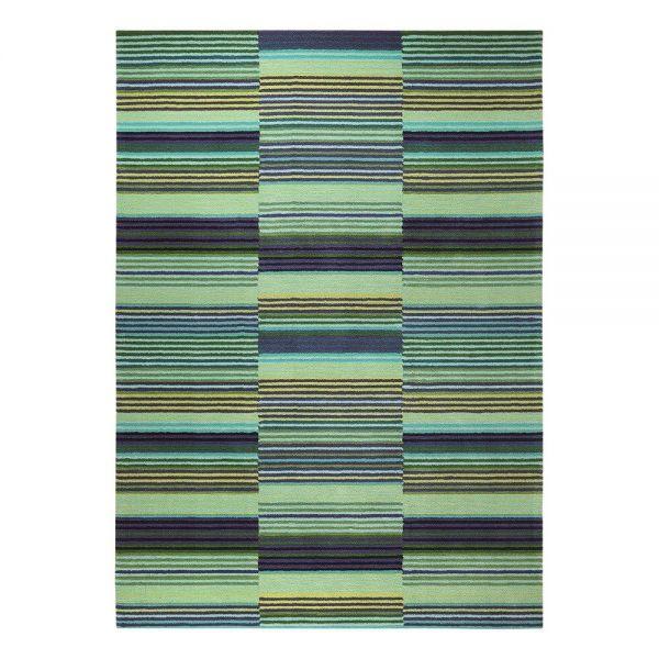 tapis moderne colorpop vert - esprit