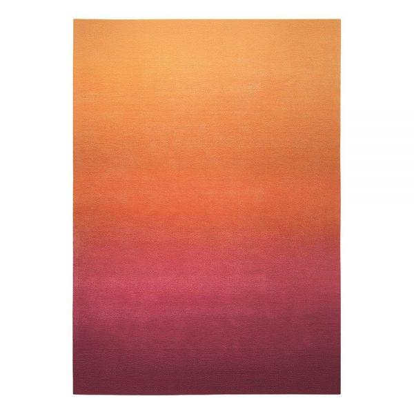tapis sunrise esprit orange moderne