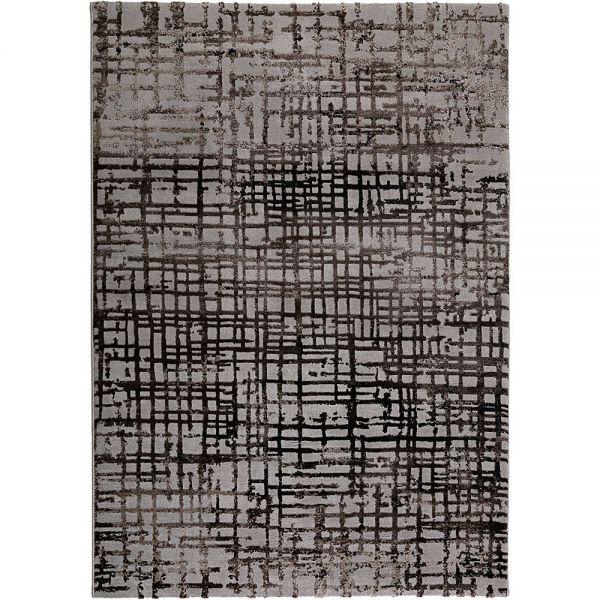 tapis velvet grid beige - esprit