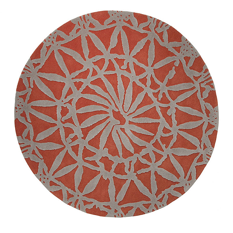 tapis oriental lounge orange - esprit home