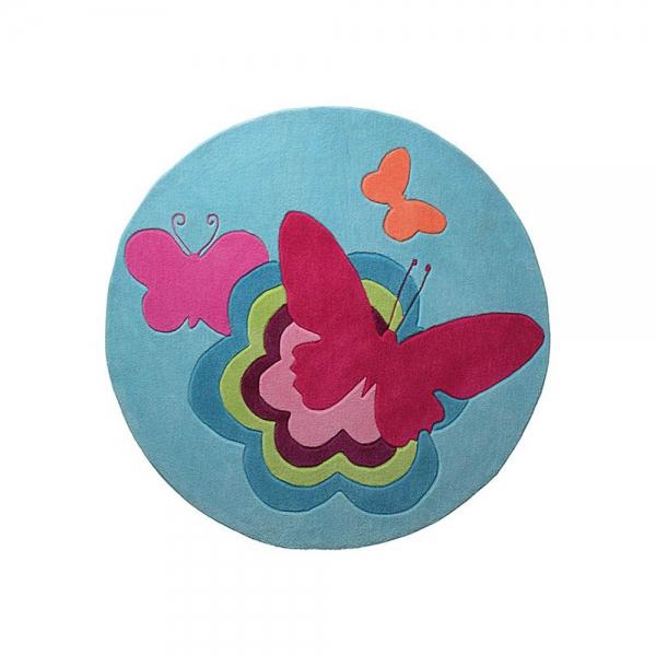 tapis enfant butterflies esprit home