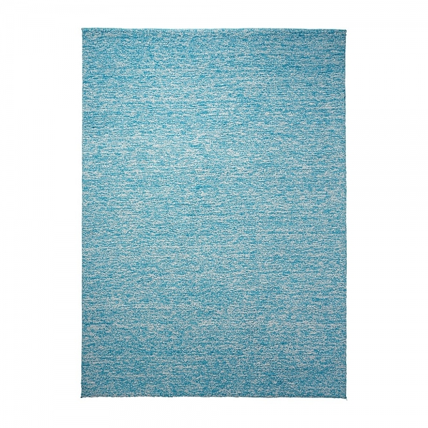 tapis esprit home shaggy homie bleu