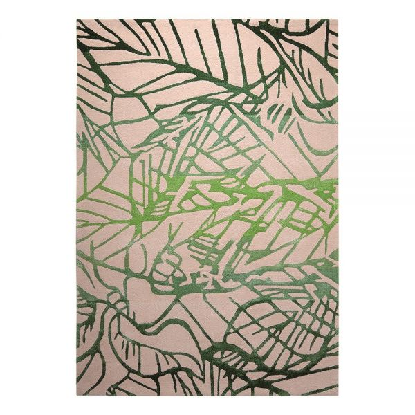 tapis esprit vert natural wilderness moderne
