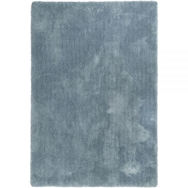 tapis shaggy relaxx bleu stone esprit