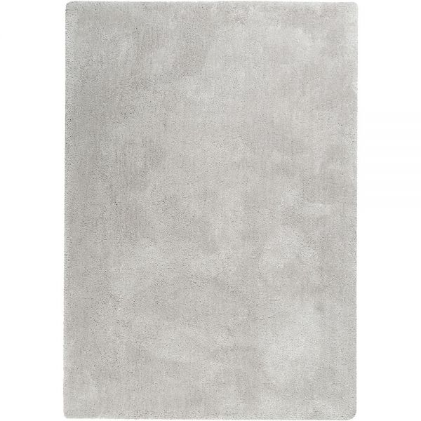tapis relaxx shaggy gris clair esprit