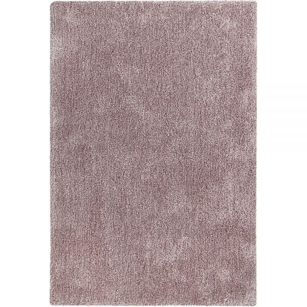 tapis shaggy relaxx rose clair esprit