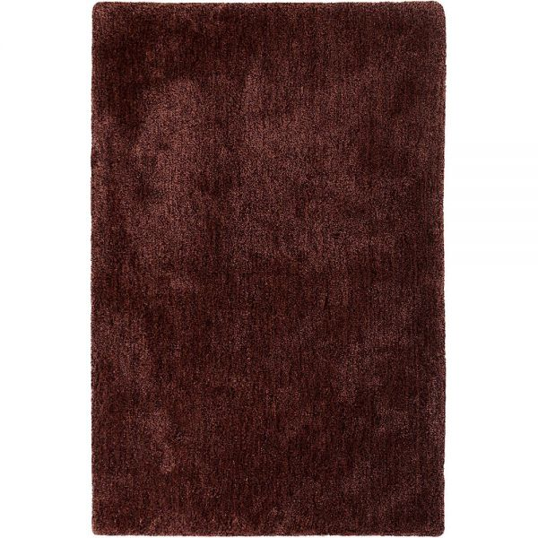 tapis shaggy esprit relaxx rouge burgundy