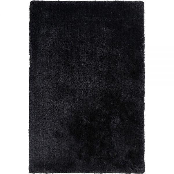 tapis shaggy relaxx gris charbon esprit