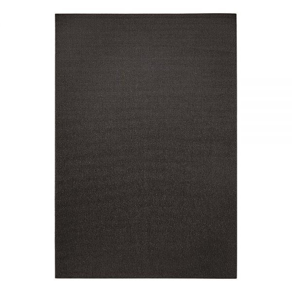 tapis resort sisal style moderne noir esprit home