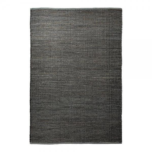 tapis en laine gobi esprit home anthracite