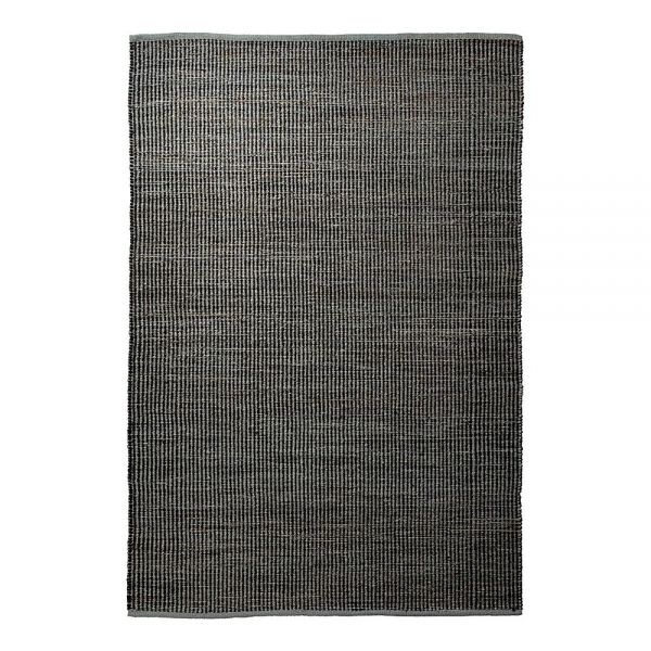 tapis anthracite en laine gobi esprit home