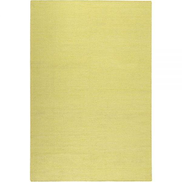 tapis kelim rainbow kelim jaune esprit