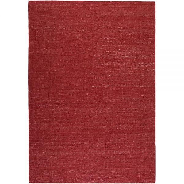 tapis rainbow kelim rouge - esprit