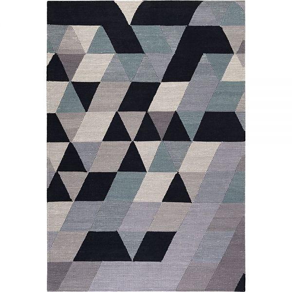 tapis triango kelim multicolore esprit