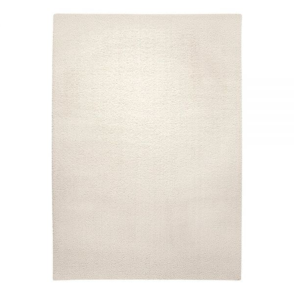 Tapis esprit home chill glamour moderne blanc 133x200