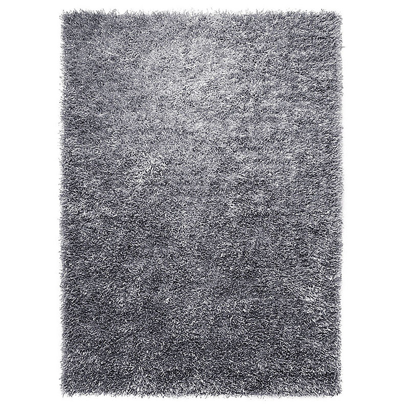 tapis shaggy gris esprit home cool glamour