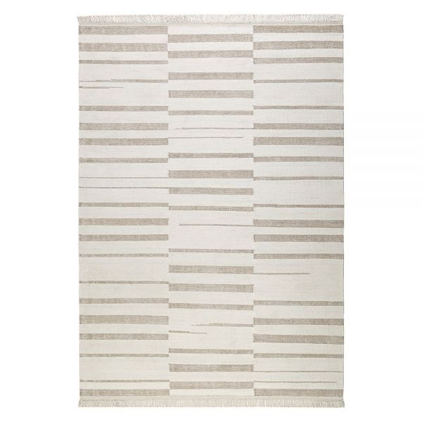 tapis beige et blanc moderne skid marks carpets co 160x230. Black Bedroom Furniture Sets. Home Design Ideas