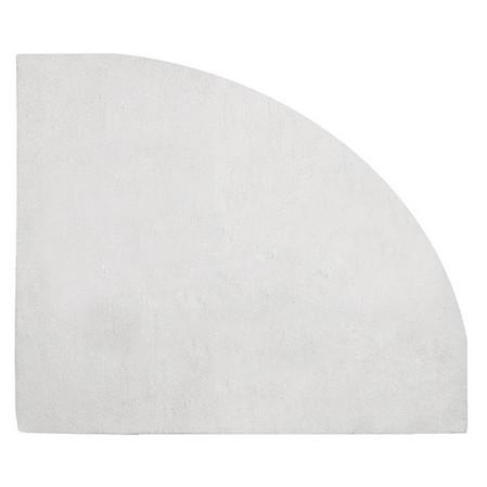 Tapis enfant angle de mur gris clair 140x140 lilipinso 140x140