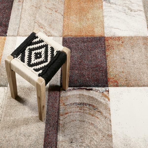 tapis mirage orange - wecon