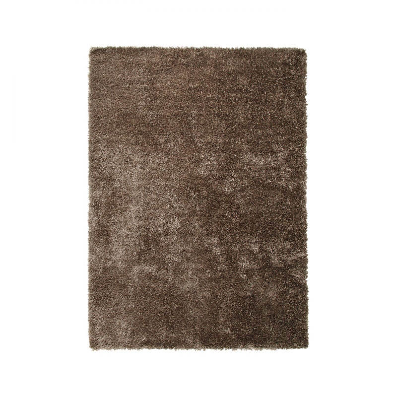 tapis new glamour chatain moderne esprit home