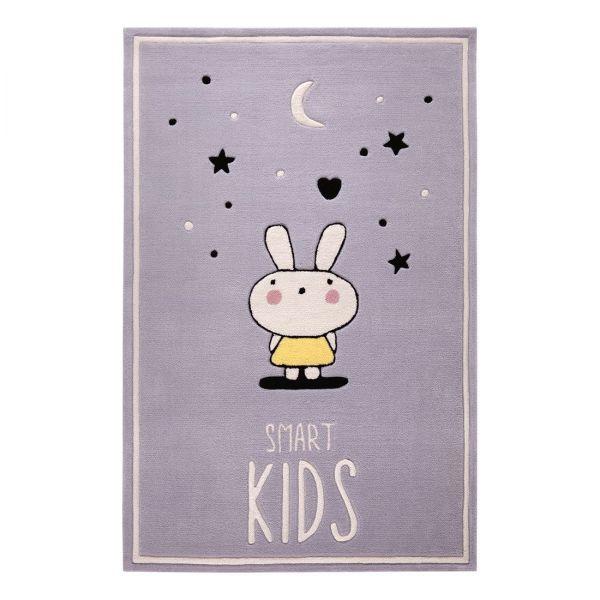 tapis enfant conny smart kids gris