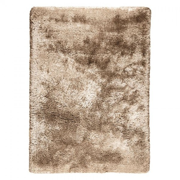 tapis shaggy marron adore - ligne pure