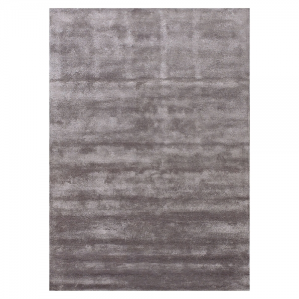 tapis angelo annapurna tuft main en viscose gris fonc 170x240. Black Bedroom Furniture Sets. Home Design Ideas
