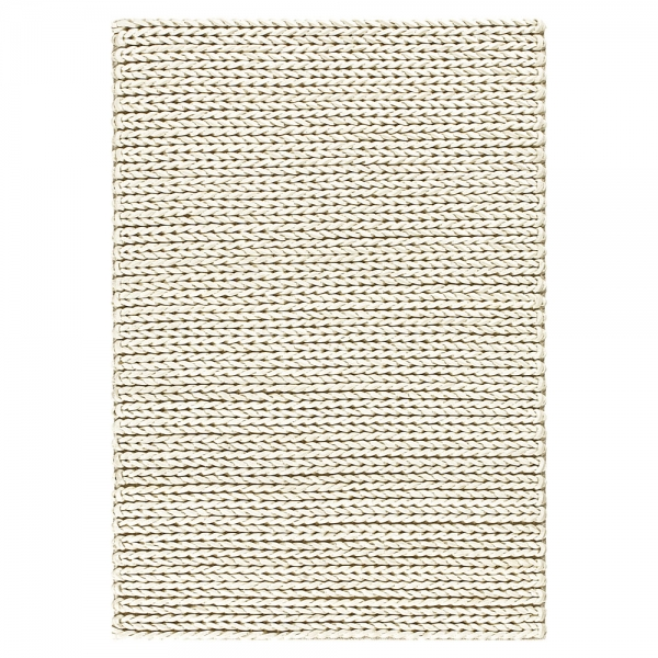 tapis angelo highland blanc en laine tissé main