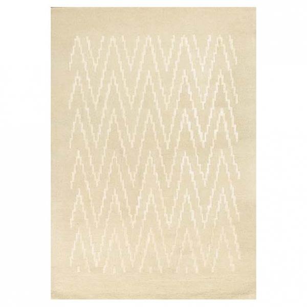 tapis blanc en laine et viscose paris ikat angelo 170x240. Black Bedroom Furniture Sets. Home Design Ideas